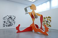 MdbK, Ausstellung Ruckhäberle, Ansicht 2