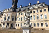 Schloss Hubertusburg, Außenansicht