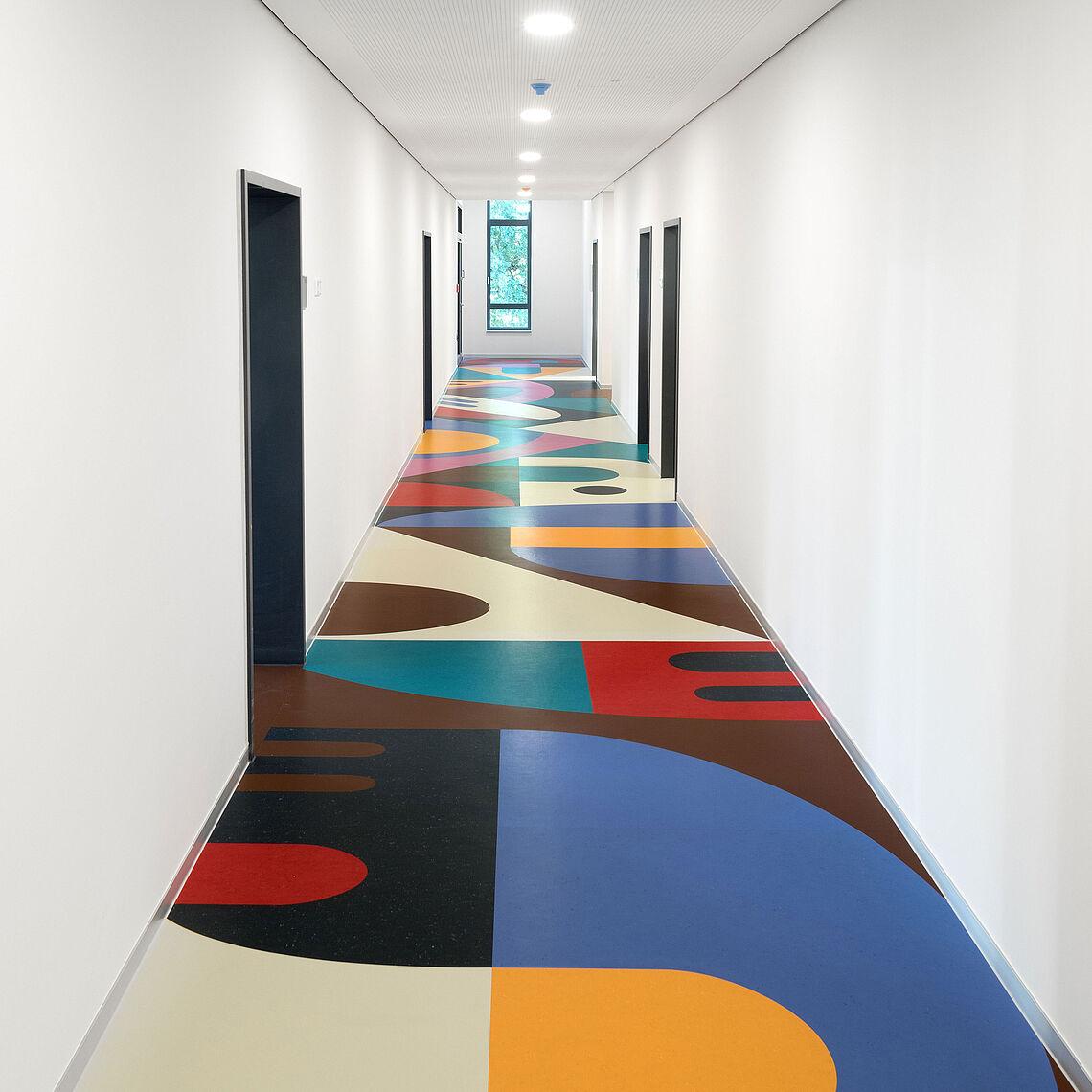 Linoleumboden BWZ Leipzig