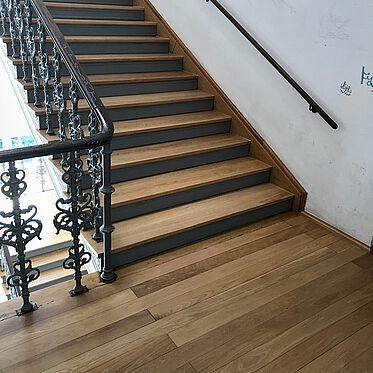 Treppenanlage, renoviert