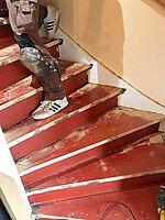 Treppe vorher unverkleidet Bild 1