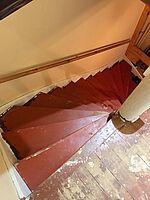 Treppe vorher unverkleidet Bild 2