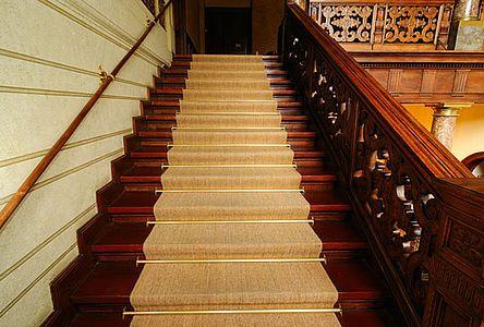 Treppenaufgang in der Sächsischen Akademie der Wissenschaften